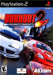 Box cover for Burnout 2: Point of Impact on the Sony Playstation 2.