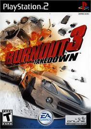 Box cover for Burnout 3: Takedown on the Sony Playstation 2.
