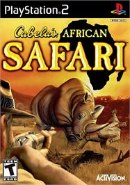 Box cover for Cabela's African Safari on the Sony Playstation 2.