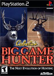 Box cover for Cabela's Big Game Hunter on the Sony Playstation 2.