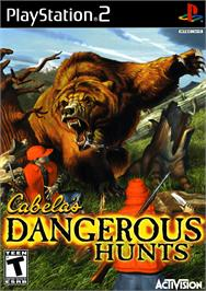 Box cover for Cabela's Dangerous Hunts on the Sony Playstation 2.