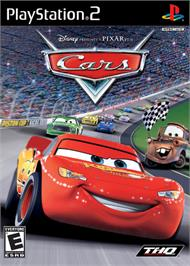Box cover for Cars on the Sony Playstation 2.