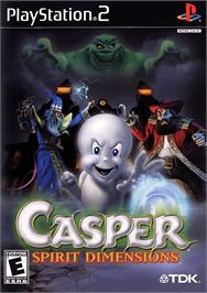 Box cover for Casper: Spirit Dimensions on the Sony Playstation 2.