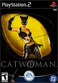 Box cover for Catwoman on the Sony Playstation 2.