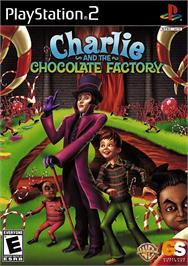 Box cover for Charlie and the Chocolate Factory on the Sony Playstation 2.