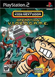 Box cover for Codename: Kids Next Door - Operation: V.I.D.E.O.G.A.M.E. on the Sony Playstation 2.