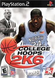 Box cover for College Hoops 2K6 on the Sony Playstation 2.