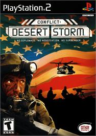 Box cover for Conflict: Desert Storm on the Sony Playstation 2.