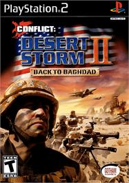 Box cover for Conflict: Desert Storm II: Back to Baghdad on the Sony Playstation 2.