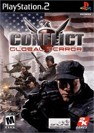 Box cover for Conflict: Global Terror on the Sony Playstation 2.