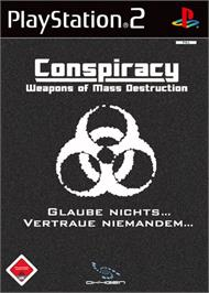 Box cover for Conspiracy: Weapons of Mass Destruction on the Sony Playstation 2.