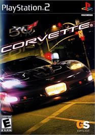 Box cover for Corvette on the Sony Playstation 2.
