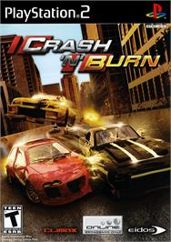 Box cover for Crash 'n' Burn on the Sony Playstation 2.