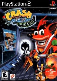 Box cover for Crash Bandicoot: The Wrath of Cortex on the Sony Playstation 2.