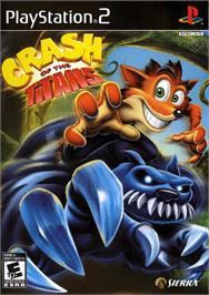 Box cover for Crash of the Titans on the Sony Playstation 2.