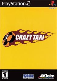 Box cover for Crazy Taxi on the Sony Playstation 2.