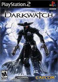 Box cover for Darkwatch on the Sony Playstation 2.