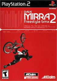 Box cover for Dave Mirra Freestyle BMX 2 on the Sony Playstation 2.