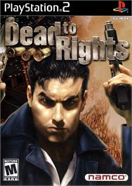 Box cover for Dead to Rights on the Sony Playstation 2.
