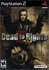 Box cover for Dead to Rights 2 on the Sony Playstation 2.