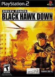Box cover for Delta Force: Black Hawk Down on the Sony Playstation 2.