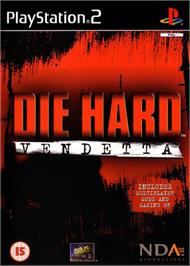 Box cover for Die Hard: Vendetta on the Sony Playstation 2.