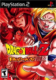Box cover for Dragonball Z: Budokai on the Sony Playstation 2.