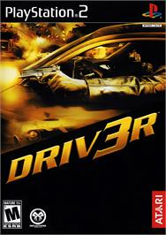 Box cover for Driv3r on the Sony Playstation 2.