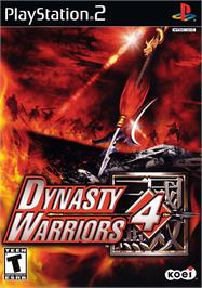 Box cover for Dynasty Warriors 4 on the Sony Playstation 2.