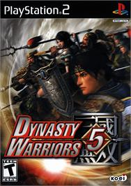 Box cover for Dynasty Warriors 5 on the Sony Playstation 2.