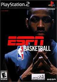 Box cover for ESPN NBA Basketball on the Sony Playstation 2.