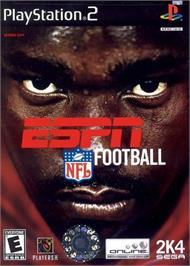Box cover for ESPN NFL Football on the Sony Playstation 2.