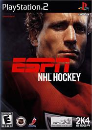 Box cover for ESPN NHL Hockey on the Sony Playstation 2.