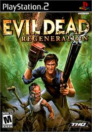 Box cover for Evil Dead: Regeneration on the Sony Playstation 2.