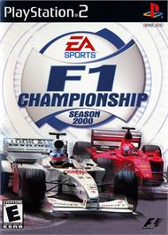 Box cover for F1 Championship Season 2000 on the Sony Playstation 2.