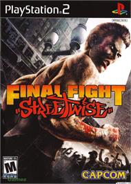 Box cover for Final Fight: Streetwise on the Sony Playstation 2.