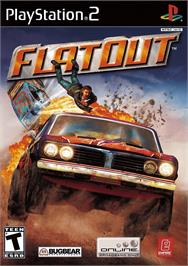 Box cover for FlatOut on the Sony Playstation 2.
