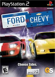 Box cover for Ford Vs. Chevy on the Sony Playstation 2.