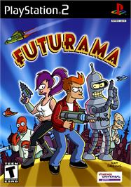 Box cover for Futurama on the Sony Playstation 2.