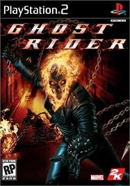 Box cover for Ghost Rider on the Sony Playstation 2.