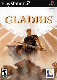 Box cover for Gladius on the Sony Playstation 2.