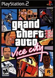 Box cover for Grand Theft Auto Double Pack on the Sony Playstation 2.