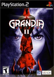 Box cover for Grandia 2 on the Sony Playstation 2.