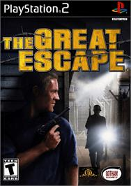 Box cover for Great Escape on the Sony Playstation 2.