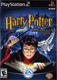 Box cover for Harry Potter and the Sorcerer's Stone on the Sony Playstation 2.