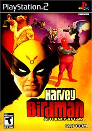 Box cover for Harvey Birdman: Attorney at Law on the Sony Playstation 2.