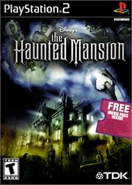 Box cover for Haunted Mansion on the Sony Playstation 2.