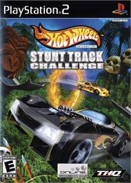 Box cover for Hot Wheels: Stunt Track Challenge on the Sony Playstation 2.