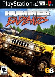 Box cover for Hummer: Badlands on the Sony Playstation 2.