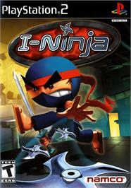 Box cover for I-Ninja on the Sony Playstation 2.